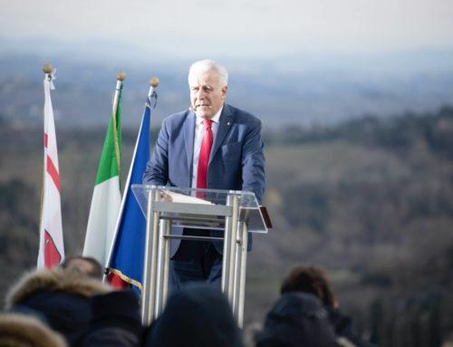 Eugenio Giani: Dalla Toscana l'impegno contro l'odio!